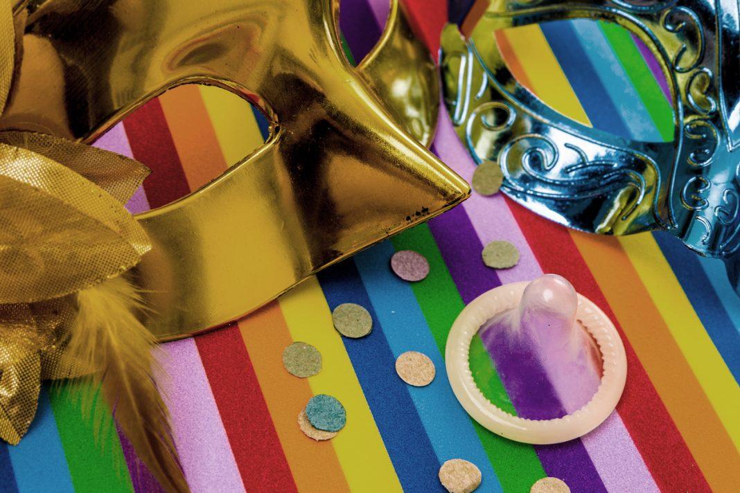 Camisinha no carnaval